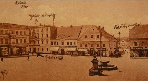 Pocztówka pochodzi z początku XX wieku
