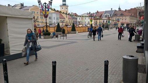 Rynek od strony ul. Zamkowej
