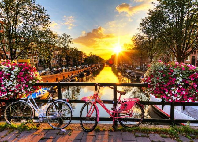 Najpiękniejsze miasta Europy - Amsterdam