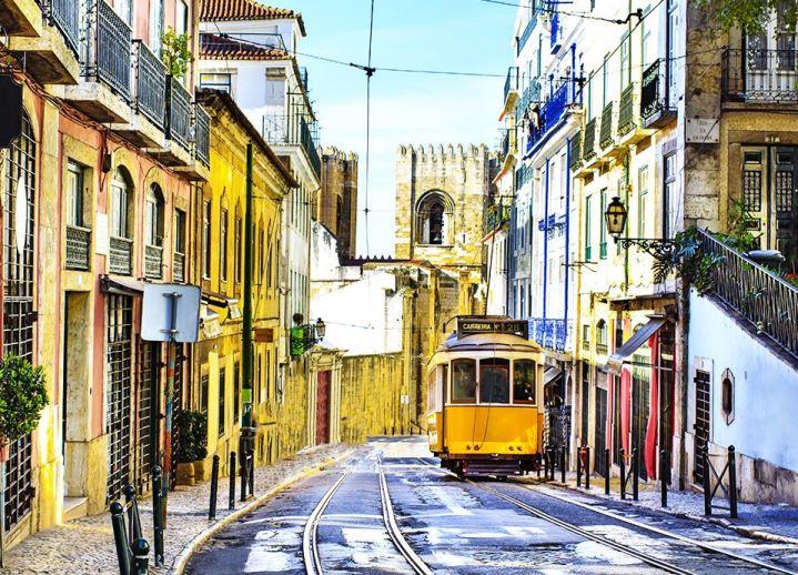Najpiękniejsze miasta Europy - Lizbona