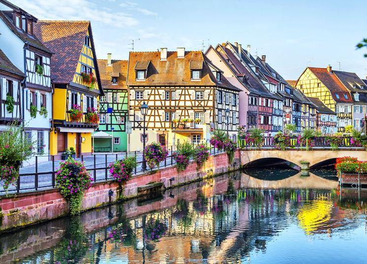 Najpiękniejsze miasta Europy - Colmar
