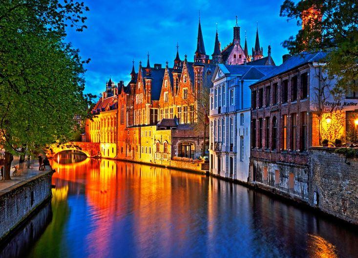 Najpiękniejsze miasta Europy - Brugia