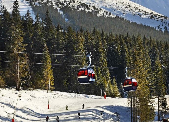 Ośrodki narciarskie - Chopok Jasna