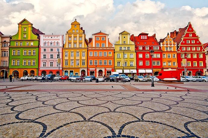 Top 10 miejsc w 2018 roku - Wrocław