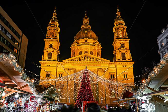 Najpiękniejsze jarmarki świąteczne - Budapeszt