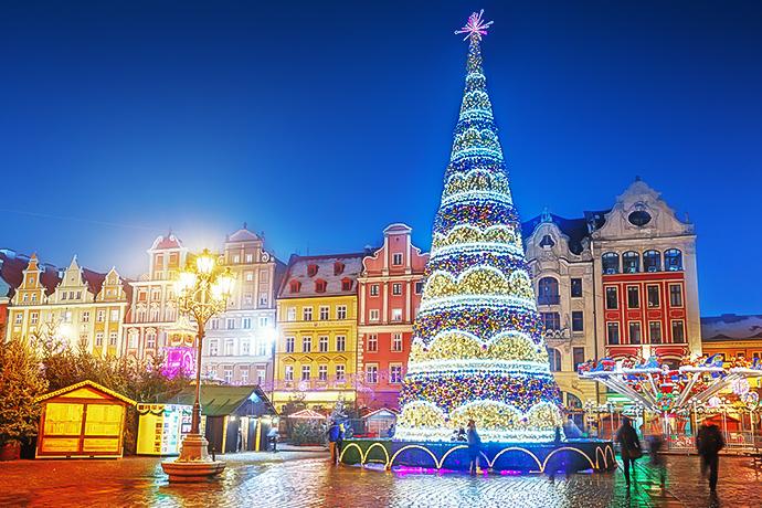 Najpiękniejsze jarmarki świąteczne - Wrocław