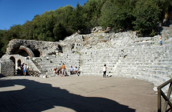 Najpiękniejsze zakątki Albanii - Butrint