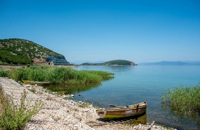 Najpiękniejsze zakątki Albanii - Jezioro Ochrydzkie