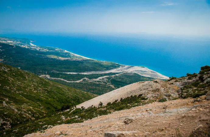 Najpiękniejsze zakątki Albanii - Przełęcz Llogara