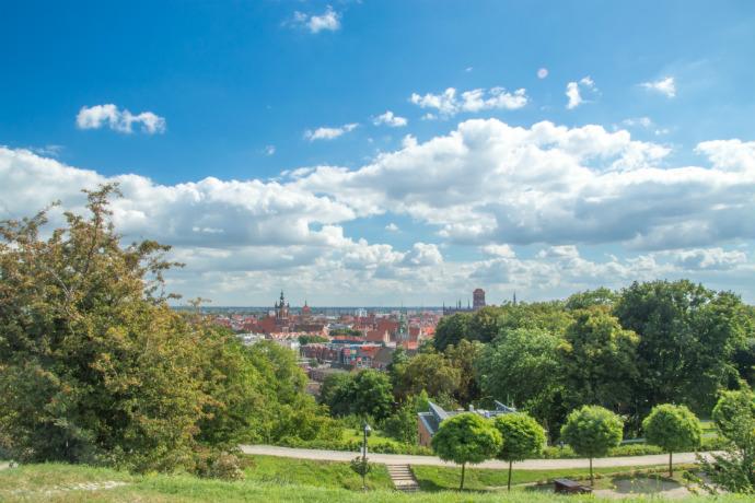 Najlepsze parki w Polsce - Góra Gradowa w Gdańsku