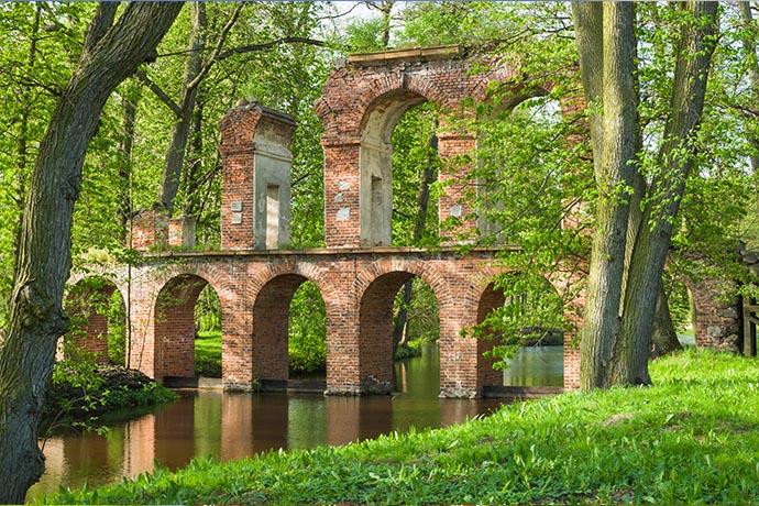 Najpiękniejsze ogrody pałacowe w Polsce - Arkadia