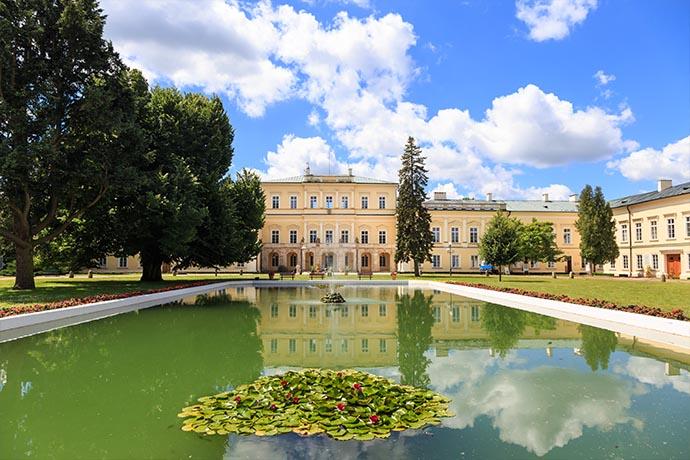 Najpiękniejsze ogrody pałacowe w Polsce - Park Czartoryskich