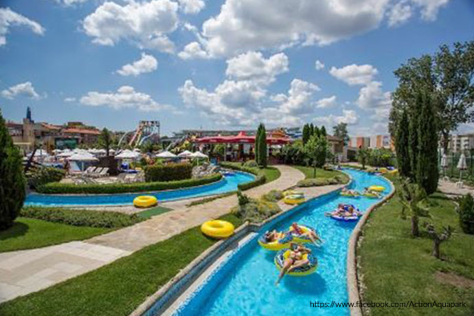 Najlepsze aquaparki w Europie - Action aqua Park
