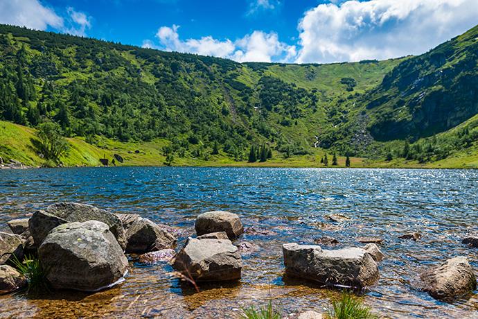 Górskie jeziora - Mały Staw