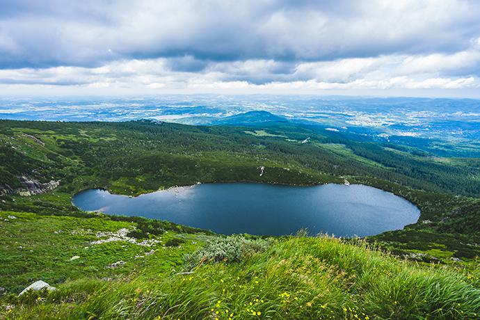 Górskie jeziora - Wielki Staw