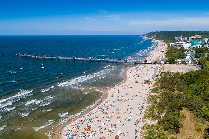 Ranking plaż 2019 - Międzyzdroje