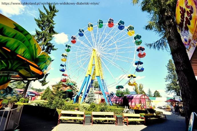 Najlepsze parki rozrywki dla dzieci - Rabkoland