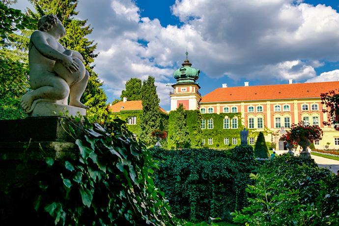 Najpiękniejsze ogrody pałacowe w Polsce - Łańcut