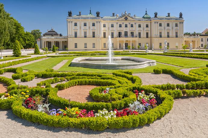 Najpiękniejsze ogrody pałacowe w Polsce - Pałac Branickich