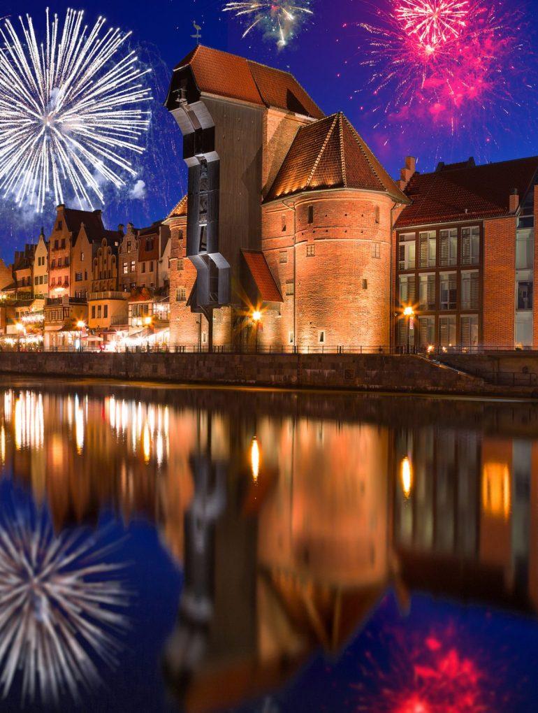 Gdańsk, Nowy Rok