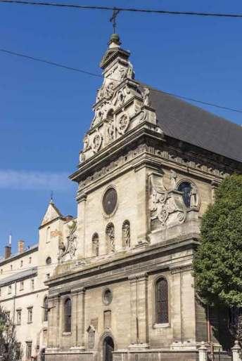 Lwów, kościół bernardynów