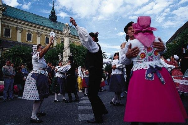 Pokazy taneczne uświetniają  doroczny paprykowy festiwal, fot. Paweł Wroński