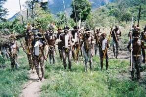 Wojownicy z plemienia Dani