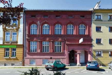 Dawna Synagoga ortodoksyjnego stowarzyszenia Szomre Szabos przy ul. Božkowej 16.