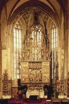 Ołtarz główny kościoła św. Jakuba w Lewoczy