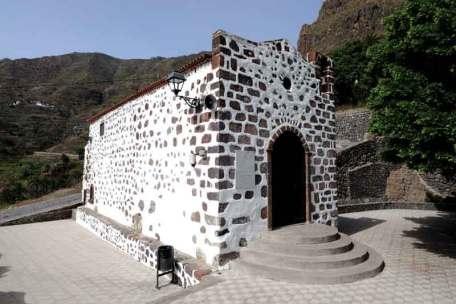 Church in village Masca, Canary Island Tenerife, Spain