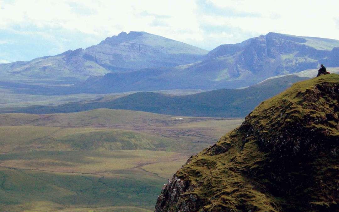Wielka Brytania – Skye, Szkocja za kurtyną mgieł
