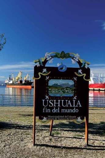 Ushuaia to najdalej na południe położone argentyńskie miasto