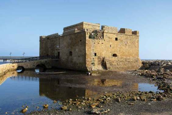 Pafos the castle Cyprus