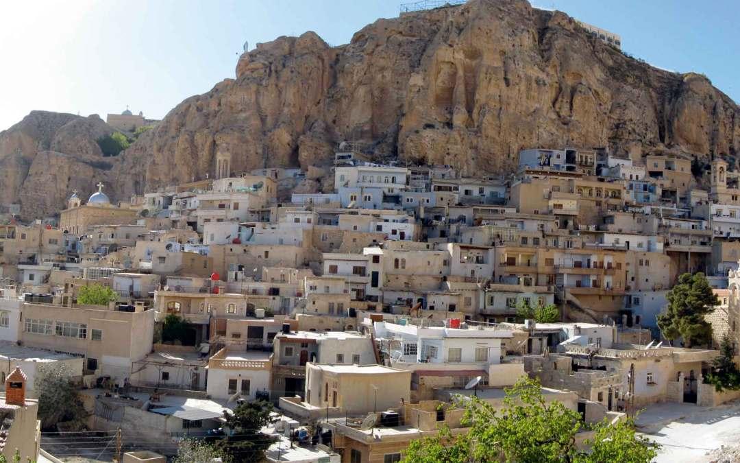 Syria – Malula wśród skał