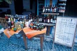 Lokalne wina i przetwory z Mełnika, fot. Paweł Wroński