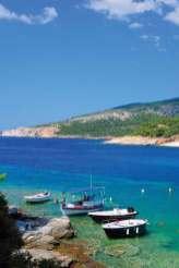 Zatoczka na wyspie Thassos.