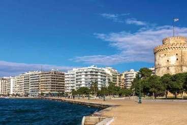 Biała Wieża to dziś symbol Salonik i najbardziej charakterystyczny element krajobrazu miasta. Obecnie w Wieży funkcjonuje Muzeum Kultury Bizantyńskiej, a z kawiarni usytuowanej na jej szczycie można podziwiać wspaniałe widoki.