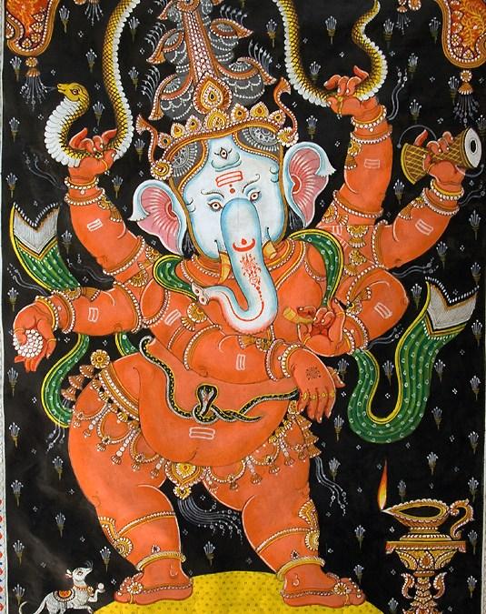 Ganesha i boskie dążenie do celu
