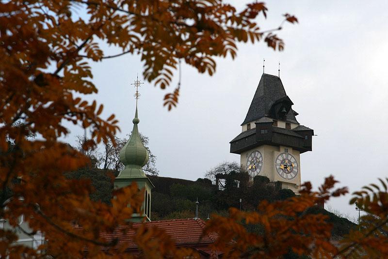 Sclossberg w Grazu, fot. Paweł Wroński
