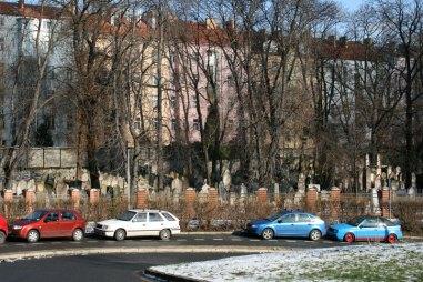 Praską wieżę TV wybudowano na terenie cmentarza żydowskiego, fot. Paweł Wroński