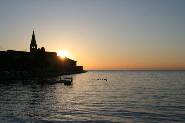 Bazylika w Poreču o zachodzie słońca, fot. Paweł Wroński