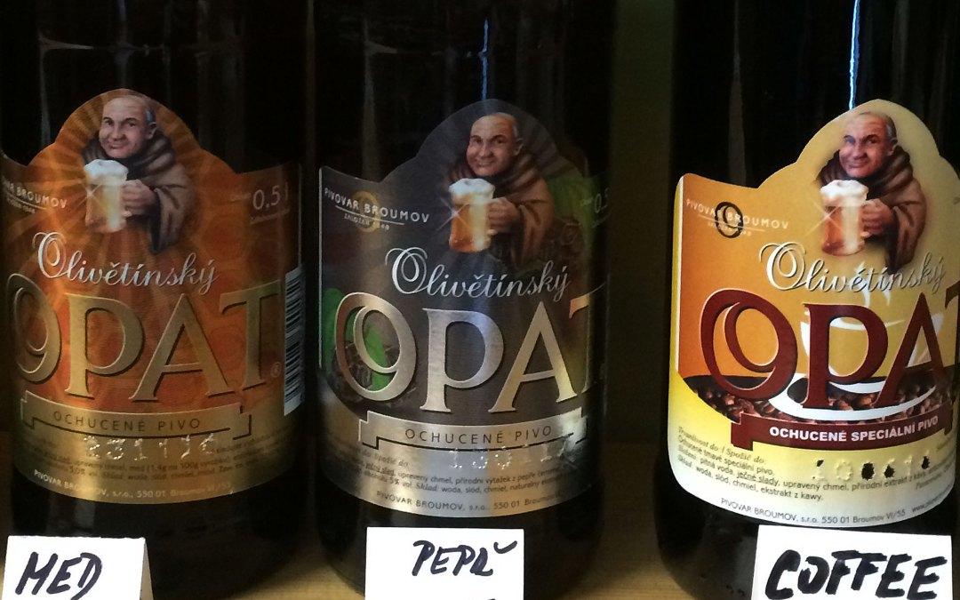 Olivětínský Opat, czyli piwa z Broumova