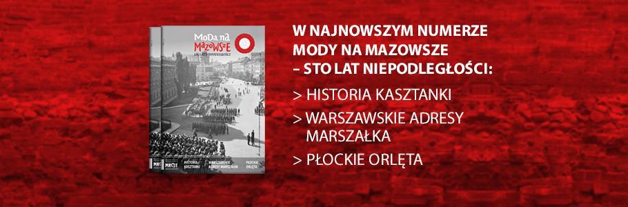 Moda na Mazowsze – 100 lat niepodległości