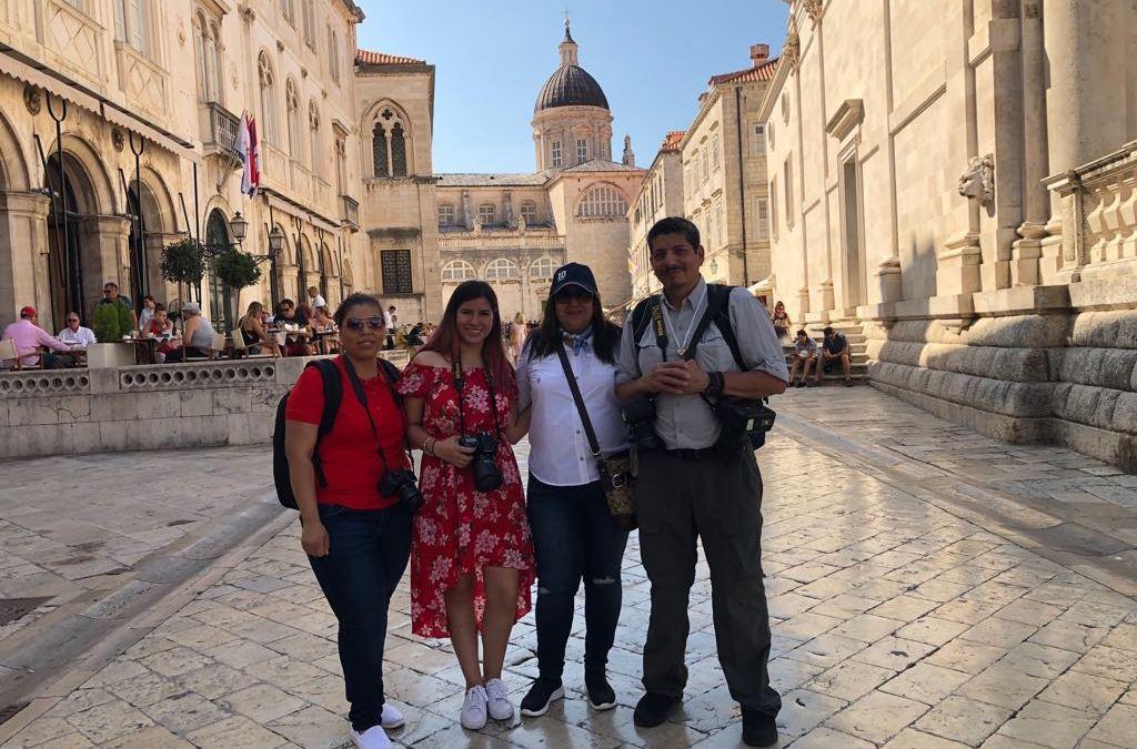 Yuri Cortez na fotograficznych wakacjach w Chorwacji