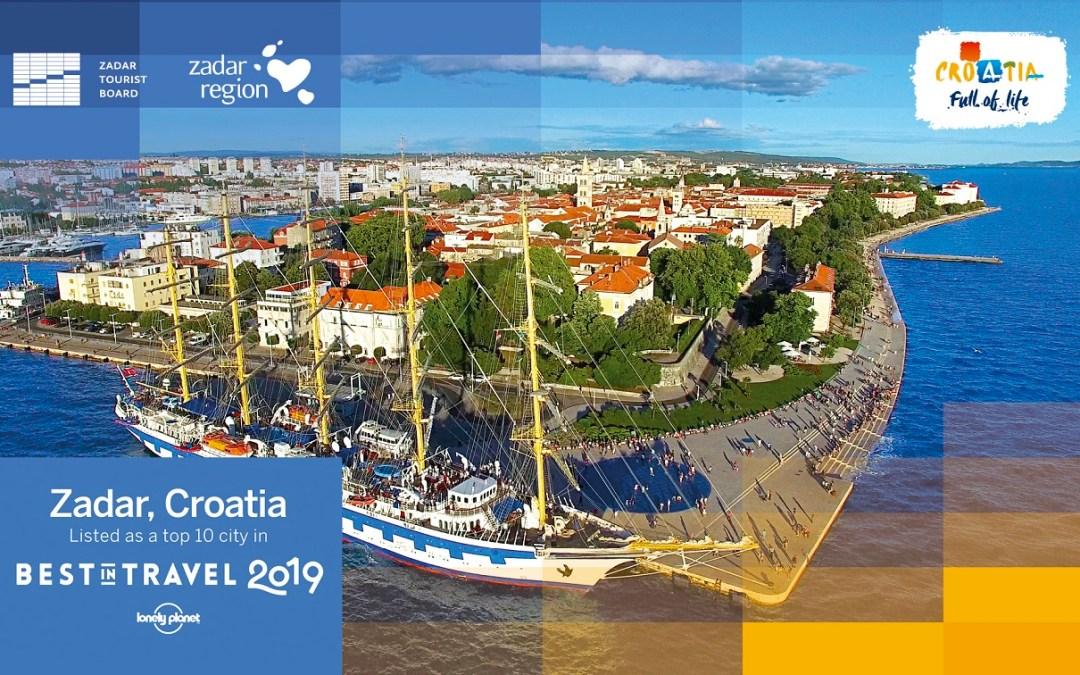 Zadar znalazł się w top 10 miast, które trzeba odwiedzić w 2019