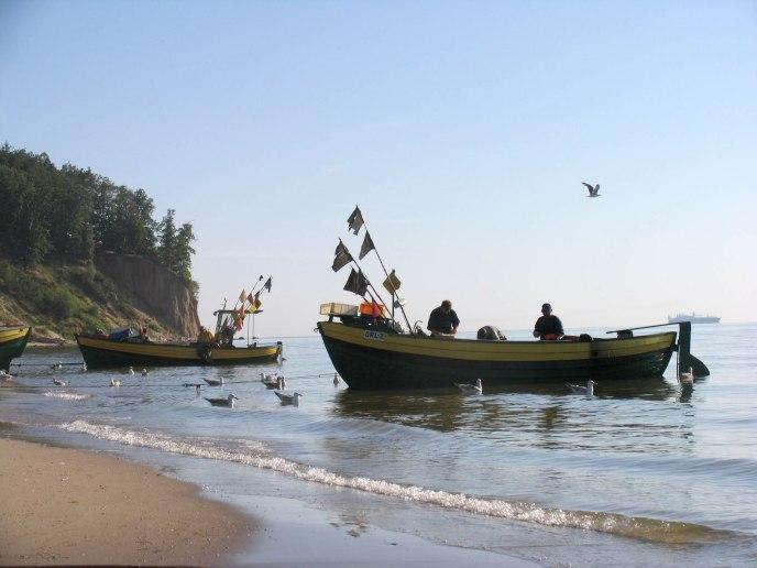 Przystań rybacka w Orłowie