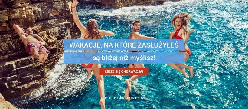Wakacje, na które zasłużyłeś są bliżej niż myślisz!Ciesz się Chorwacją!