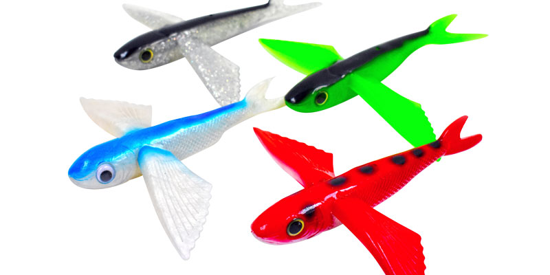 yummee flyer flying fish lures