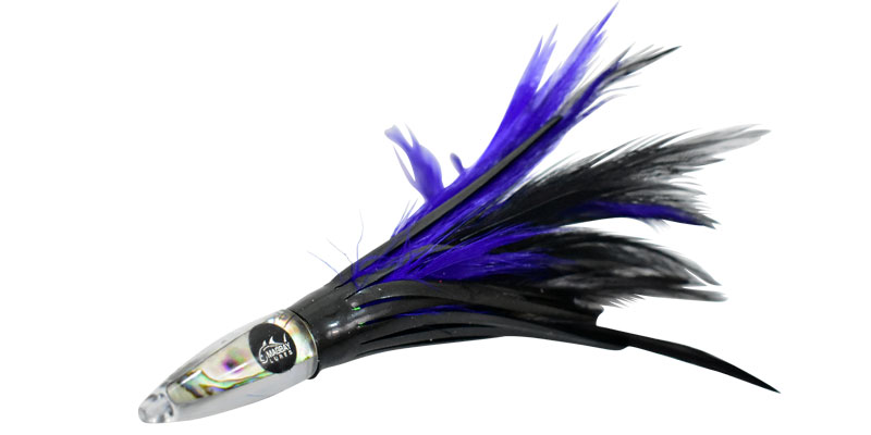 tuna feather purple