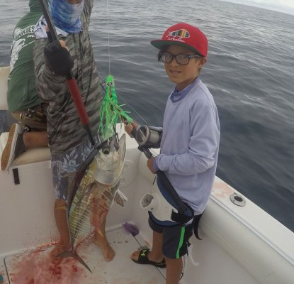 Yellowfin Tuna on Lummee